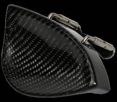 Tekka Style Carbon fiber Chin rest for violin
